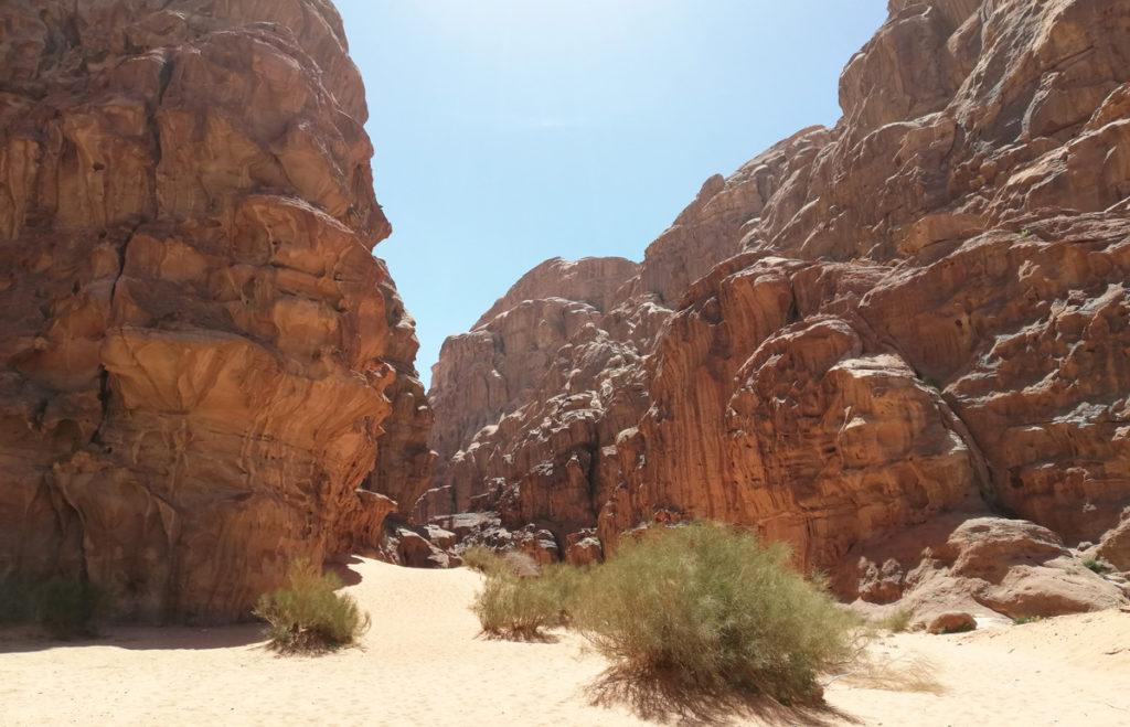 Burrah Canyon Wadi Rum - Atrakcje w Jordanii