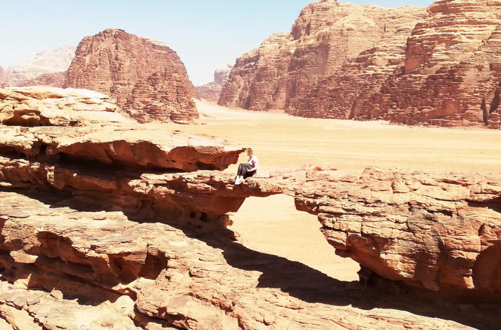 Little Bridge Wadi Rum - Atrakcje w Jordanii