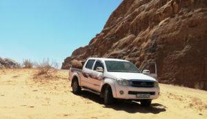 Toyota Hilux Wadi Rum - Wycieczka po pustyni